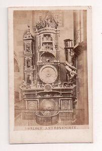 Vintage-CDV-Strasbourg-astronomical-clock-strasbourg-Alsace-France