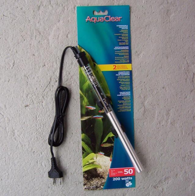 eintauchbarer Aquariumheizer 200 Watt, Regelheizer, Heizstab,  Heizer