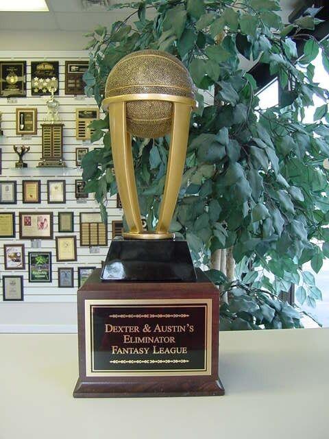 Fantasy baloncesto baloncesto baloncesto perpetuo trofeo 16 años Nuevo diseño impresionante  9df98c