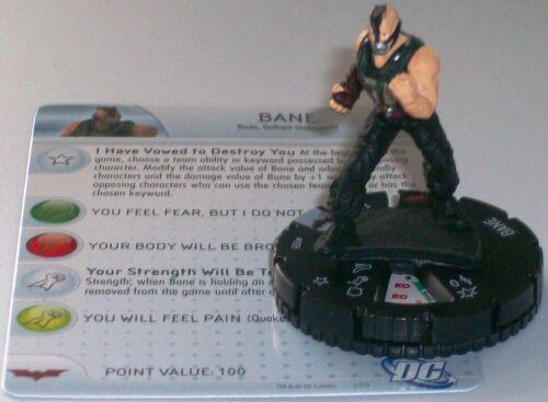 BANE #103 The Dark Knight Rises Starter DC Heroclix
