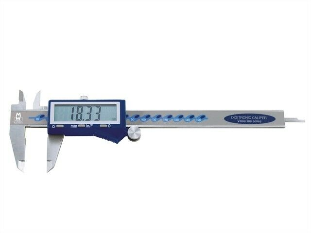 Digital Caliper With Fractions 150mm (6in) - Engineering Tools - MAW11015DFC