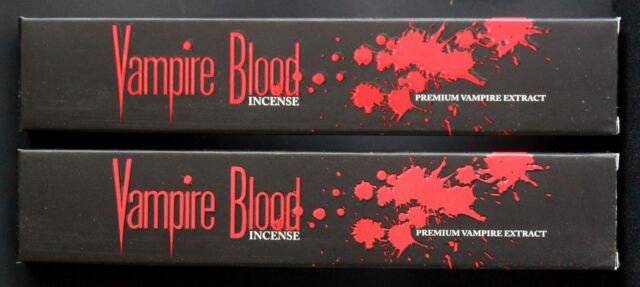 2x 15g boxes vampire blood premium extract devils garden incense
