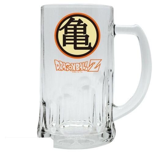 Glas Bierkrug Muten Roshi Kame Haus Logo 500 ml Dragonball Z
