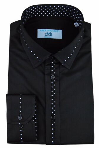formal Men/'s Italian dress casual and luxury designer regular fit shirts
