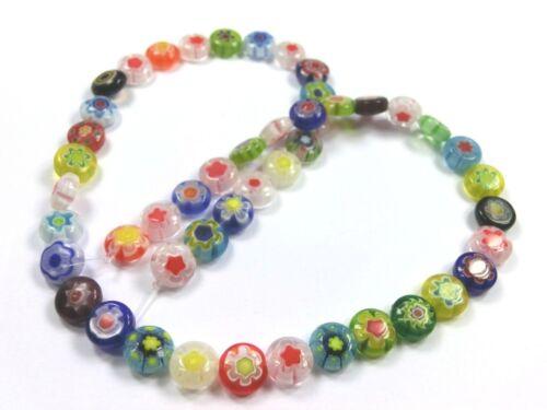 Mix pièces 8mm Perles de verre