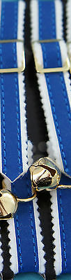 REFLECTIVE CAT KITTEN COLLAR & BELL WITH A PET ID TAG ENGRAVED BOTH SIDES FREE