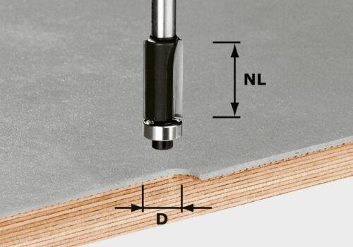 7//nl25-491027 Festool justifié à Fraise HW tige 8 mm HW s8 d12