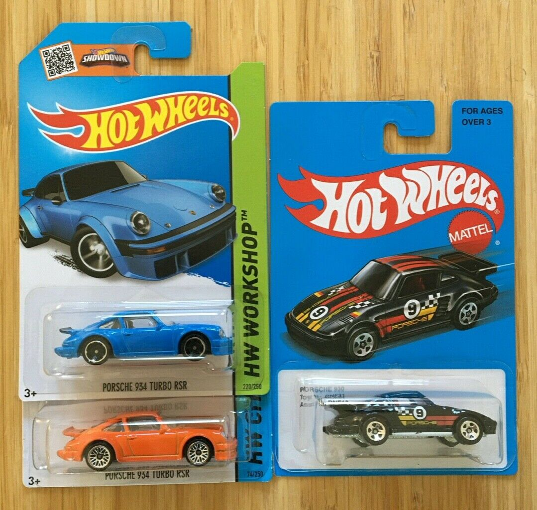 Hot Wheels 2014 Porsche 934 Turbo RSR Orange HW City