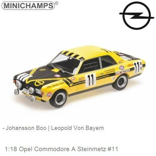 Opel Commodore A Steinmetz  11 24h Spa 1970 - 1 18 - Minichamps