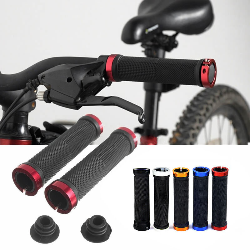 New Cycling Bike Bicycle Mountain BMX MTB Handlebar Anti-slip Handle Bar Grips