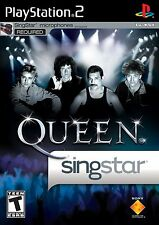 New Factory Sealed - Singstar Queen - Playstation 2 - PS2 - Free US Shipping