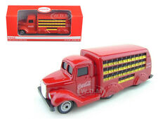 1937 COCA COLA DELIVERY BOTTLE TRUCK 1/87 HO SCALE BY MOTORCITY CLASSICS 424132