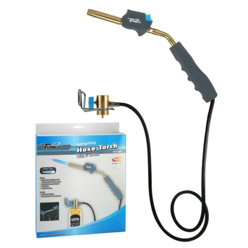 MR.TORCH Self-Igniting Gas Welding Turbo Torch with 3' Hose,MAPP MAP-pro Propane