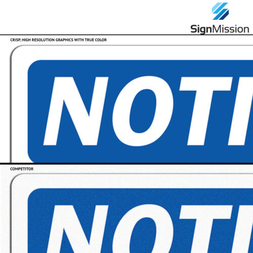 OSHA Notice Ladder To Roof Access Sign With SymbolHeavy Duty