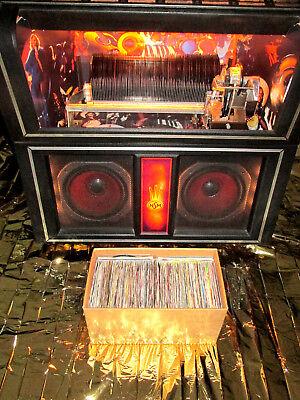 Sammlungen & Box-sets Kenntnisreich 129 Singles Aus Den 70 & 80 Jahren Mit Cover FÜr Wurlitzer&rock-ola& Nsm Jukebox