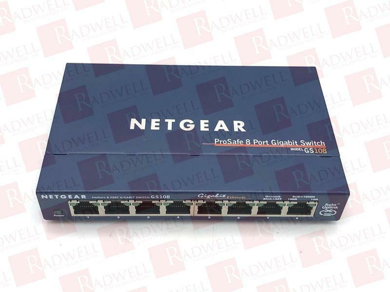 NETGEAR GS108   GS108 (USED TESTED CLEANED)