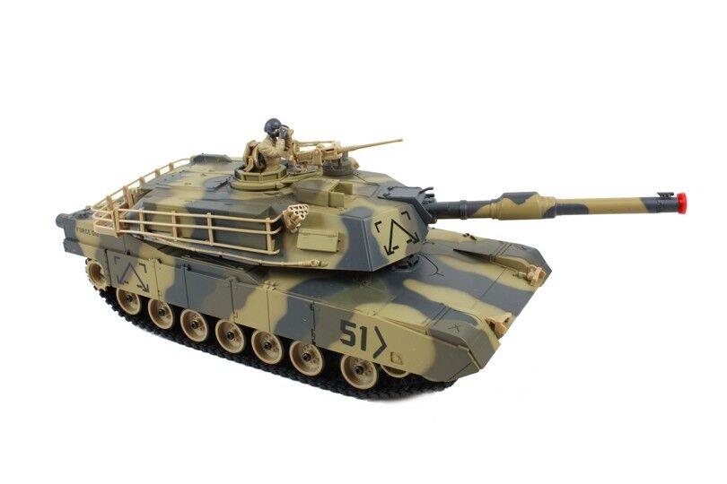 Radio Control RC Airsoft Heng Long Army War Model Battle BB Firing T-90 Tank