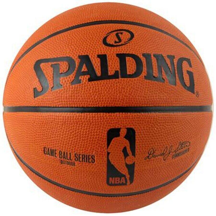 Palla da basket Spalding Gameball Replika 7  arancione