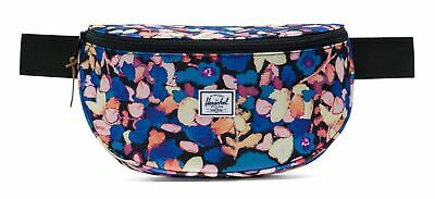 Prezzo Basso Herschel Sixteen Hip Sacco Borsa Painted Floral Blu Giallo Nuovo- Altamente Lucido