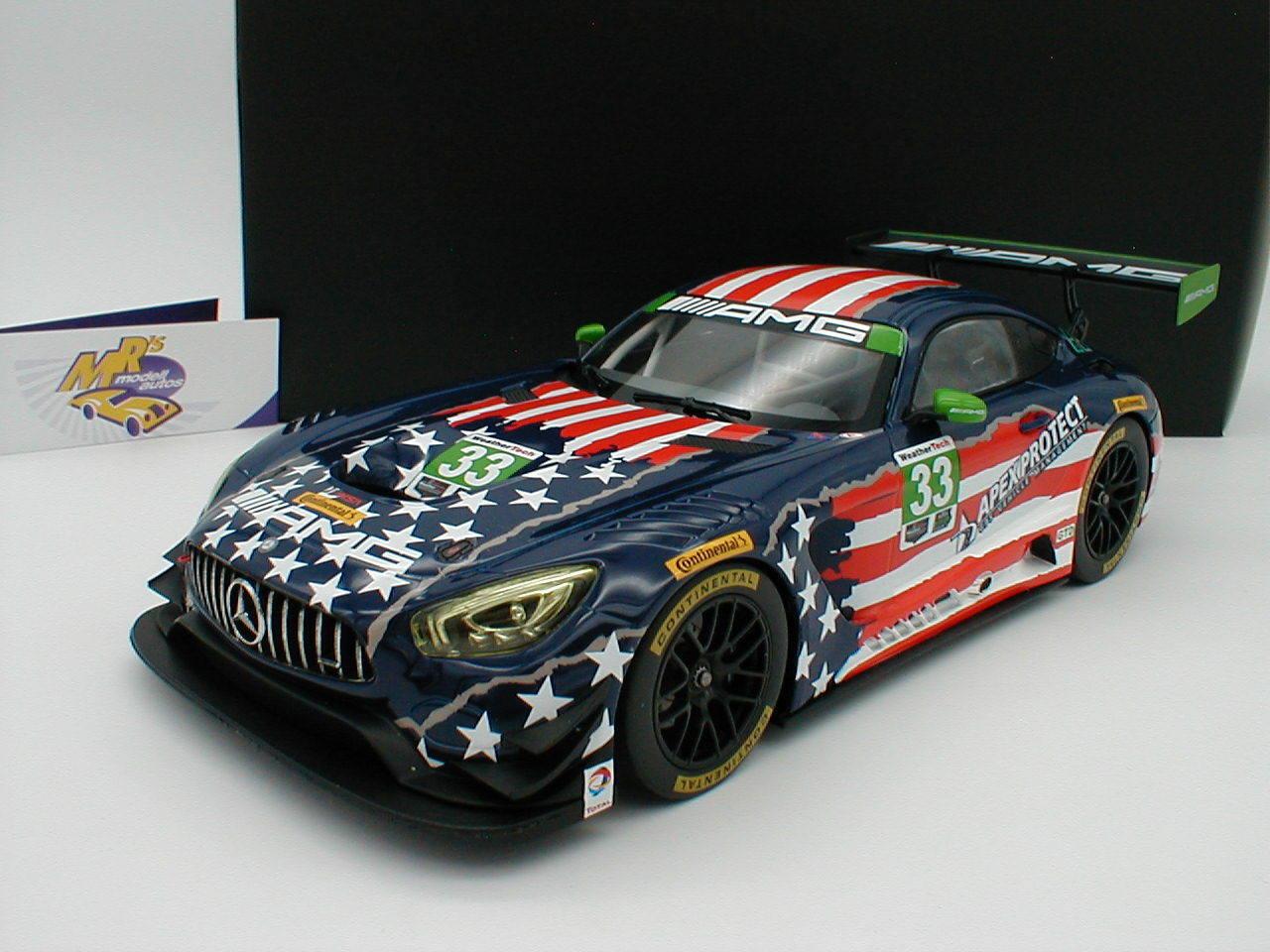 NOREV B66960455   Mercedes-Benz AMG GT3 Nr. 33 Riley Motorsports IMSA 2017 1 18  | Rabatt