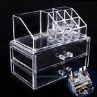 Acrylic Clear Cosmetic Organizer Drawer Makeup Jewellery Storage Case Holder Box