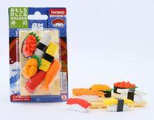 Food Iwako Japanese Eraser Sushi Gift Card Set #38335