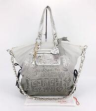 COACH 15312 POPPY STORYPATCH SPOTLIGHT Rhinestone XL OMBRE Convertible Purse Bag