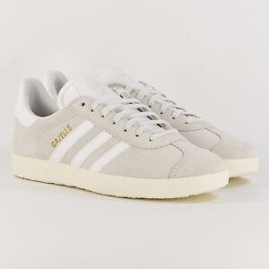 ADIDAS-Originals-Gazelle-Crystal-White-Grey-Suede-Us-5-5-Uk-5-Eur-38-CQ2799