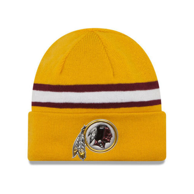 abcd5363d Washington Redskins 2016 NFL On Field Color Rush Gold Knit Sport Hat Cap  Beanie