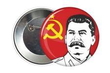 Badge Pin Button 38 mm - Staline Stalin Urss Cccp Russie