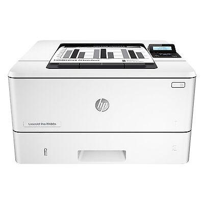 HP LaserJet Pro M402n Laserdrucker s/w C5F93A A4 Drucker Netzwerk USB