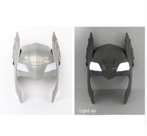 Avengers LED Glowing Sounds Thor Hammer Axe Helmet Mask Kids Cosplay Toys UK