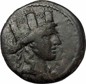 SYNNADA-in-PHRYGIA-133BC-Tyche-Zeus-Original-Authentic-Ancient-Greek-Coin-i57705