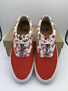 Alfie Budweiser Sneakers Red White King Of Beers 8 Men's 10 Women's