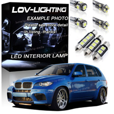 LED LIGHTING INTERIOR UPGRADE KIT XENON WHITE BULB SET For BMW X5 E70 2006-2013