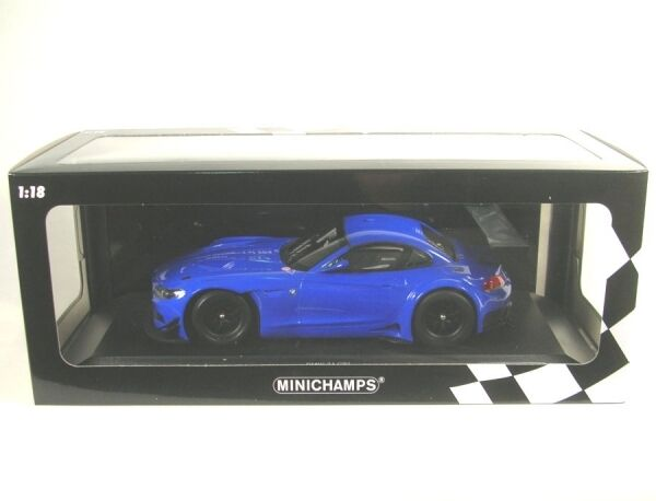 BMW z4 gt3 2012 streetversion (bleu) 2012