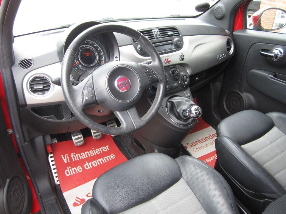 Fiat 500 0,9 TwinAir 85 Plus Benzin modelår 2012 km 163000