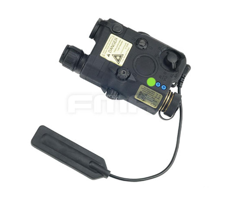 Fine Negro versión de actualización  LA5 Led Luz blancoa + justiciero Láser verde con lentes de ir  compra limitada