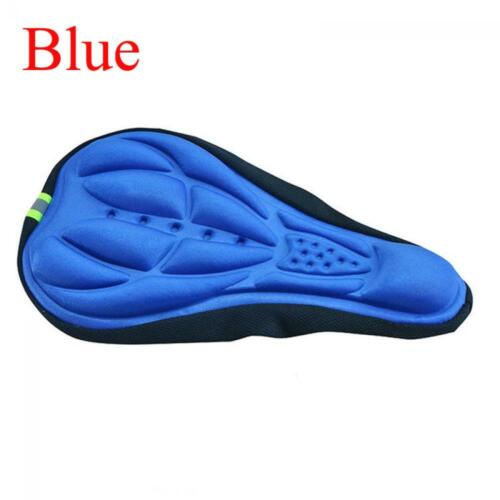 Silicone 3D Soft Gel Bike Seat Cover Saddle Pad Cushion Bicycle Parts Cycling