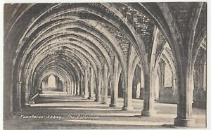 Yorkshire-Fountains-Abbey-The-Cellarium-PPC-By-Parker-Unposted-c-1910-039-s