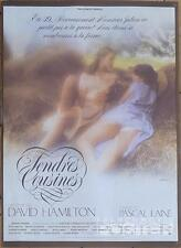 TENDER COUSINS - HAMILTON / SEXY / TEENAGER / TOPLESS - ORIGINAL FRENCH POSTER