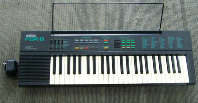 Yamaha Psr-6 Portable Electronic 48 Key Keyboard Piano Synthesizer