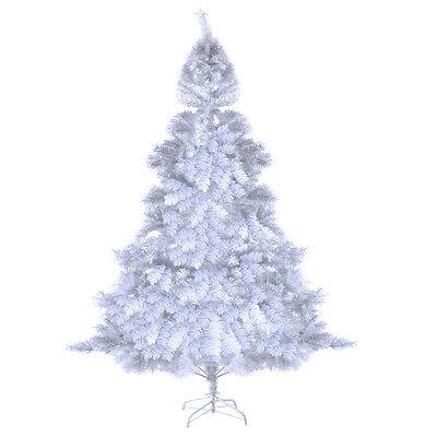 Weihnachtsbaum Tannenbaum Christbaum 150/180/210/240cm Künstlicher weiss&grün