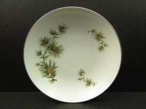 Cascade Pine by Seyei Fruit Dessert Bowl Brown Cones Green Needles s72