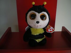 Ty Beanie Boos BUZBY the bee 6 inch NWT. IN STOCK NOW.  335ff20be64