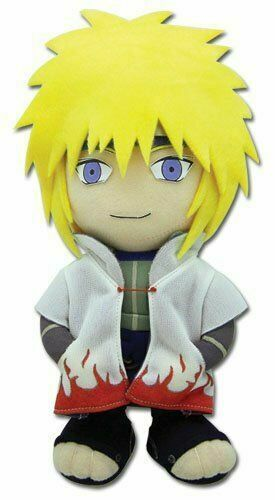 "Great Eastern Naruto Shippuden 8/"" Kakashi Plush Toy"