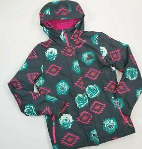 Aperture-Aztec-Floral-Print-Jacket-Winter-Coat-Womens-Sz-Sm-Snowboard-Ski-Snow