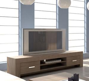 Mobile Base Porta Tv 2 Cassetti L 183 P 47 altezza 45 Olmo | eBay