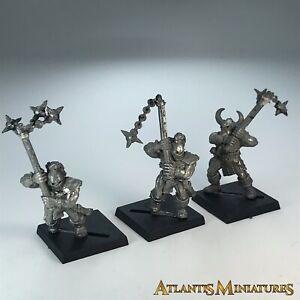 Metal Chaos Marauder infantería X3-Warhammer edad de Sigmar X4494