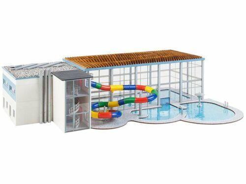 Faller 130150 piscina cubierta con tobogan kit h0